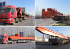 Single Beam Mobile Industrial Overhead Cranes Lifting Devices With End Beams 20 Ton